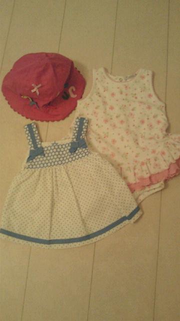 娘の洋服。